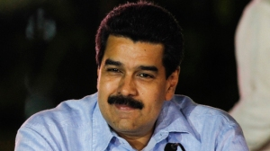 Venezuela's Vice President Nicolas Maduro attends to the anniversary ceremony of the Bolivarian Alliance for the Peoples of Our America (ALBA) in Caracas