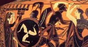 Through the Door of History, Joaquin Flores / The return of Myth, Boris Nad