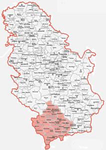 map_of_serbia_kosovo_and_metohija