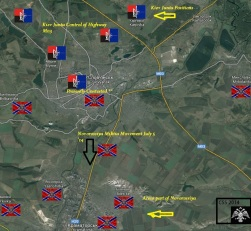 slaviansk battle
