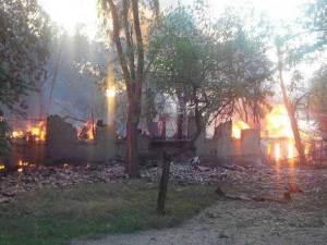 slavyansk shelled
